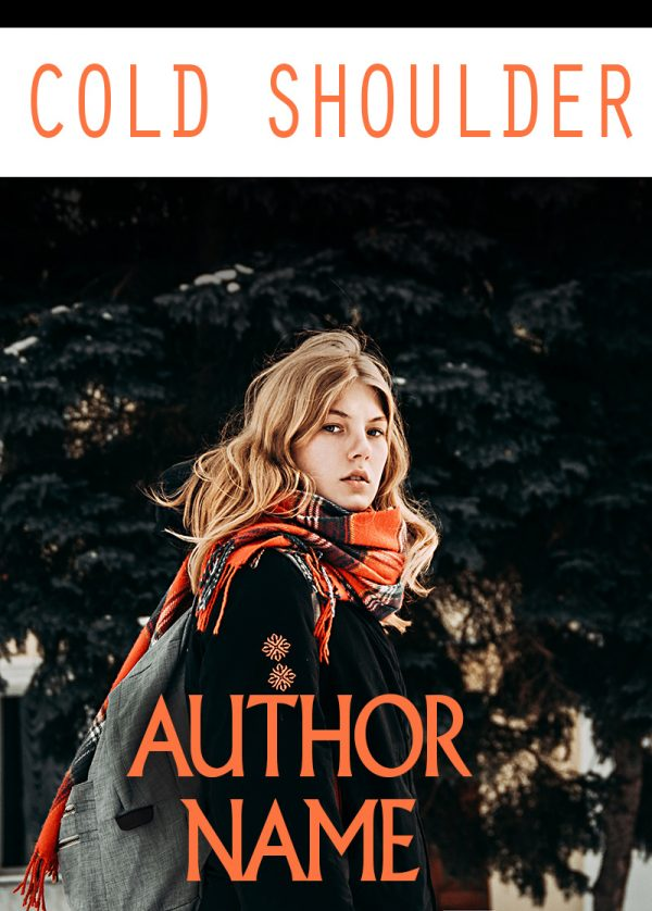 Cold Shoulder Pre-Made Book Cover